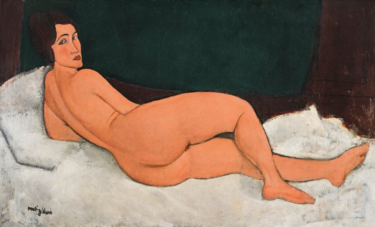 Photo of Amedeo Modigliani's Nu Couché