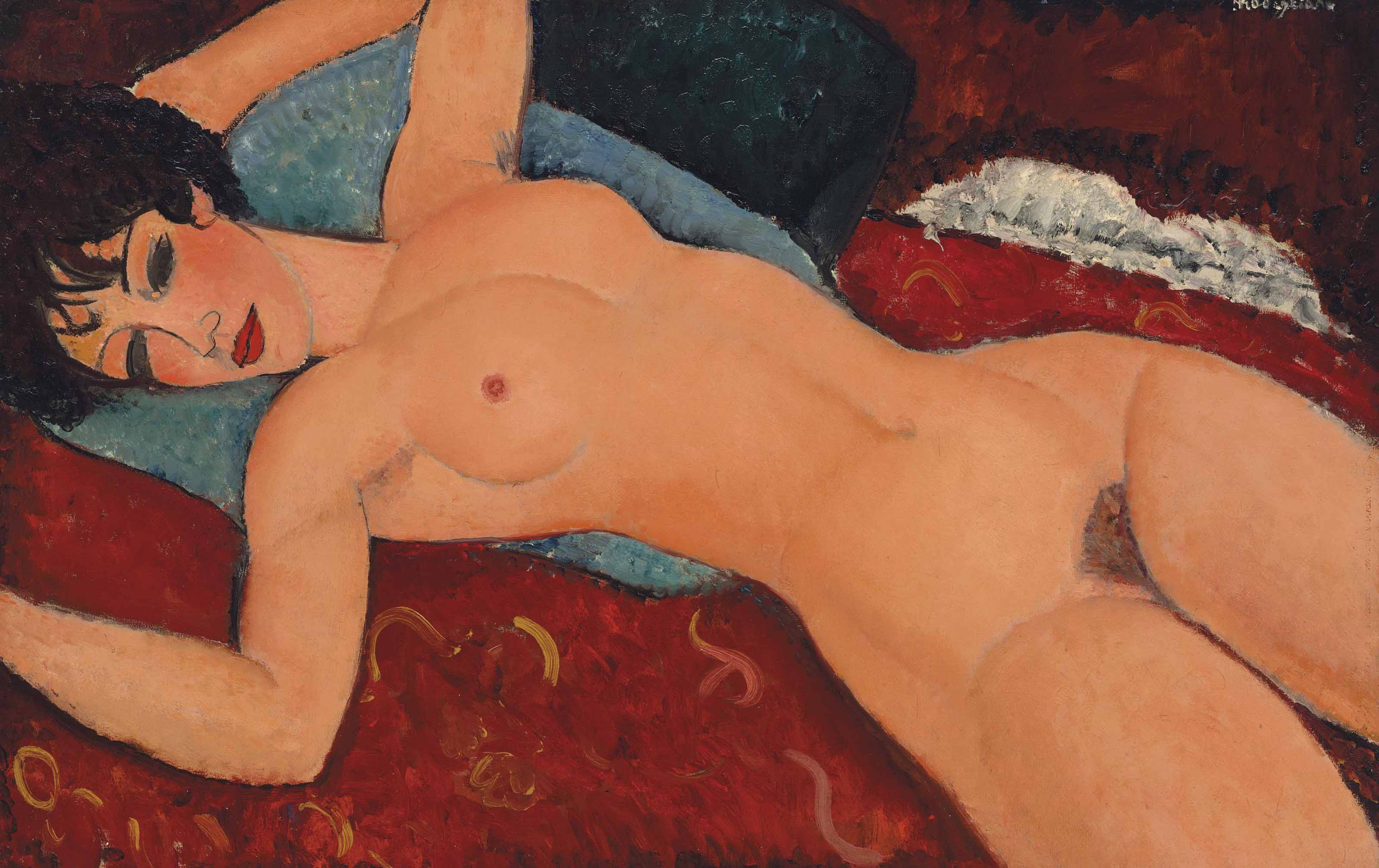 Photo of Amadeo Modigliani's Nu Couché