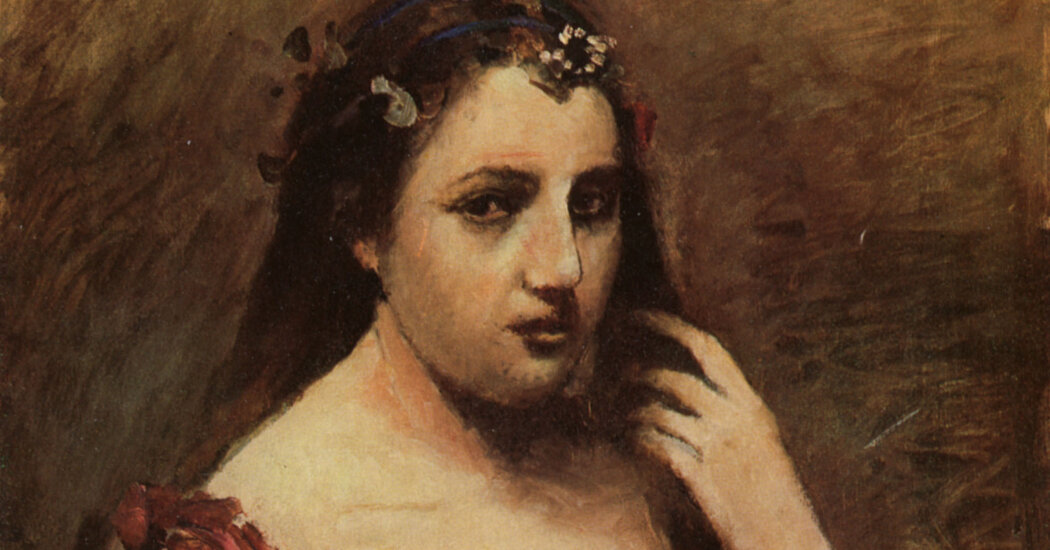 "Camille Corot's ""Portrait of a Woman"" is one of the paintings the heirs of Baron Mor Lipot Herzog are seeking to recover"
